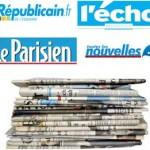 La presse qui soutient l'association